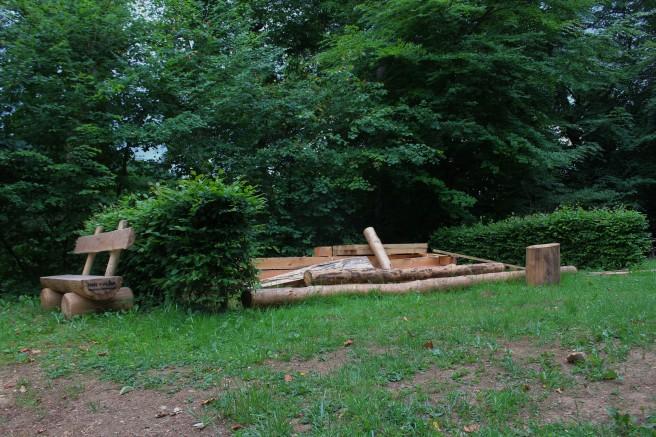 Errichtung Holzkonstruktion